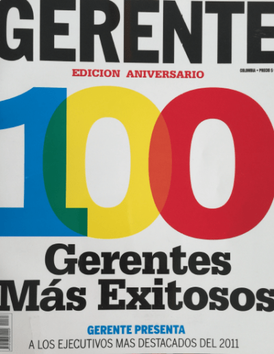 Revista Gerente Colombia 2011