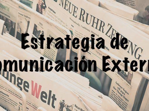Comunicación Externa – Gabinetes de prensa