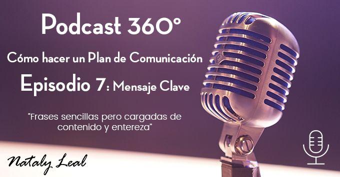 Post Podcast 7 Mensaje Clave