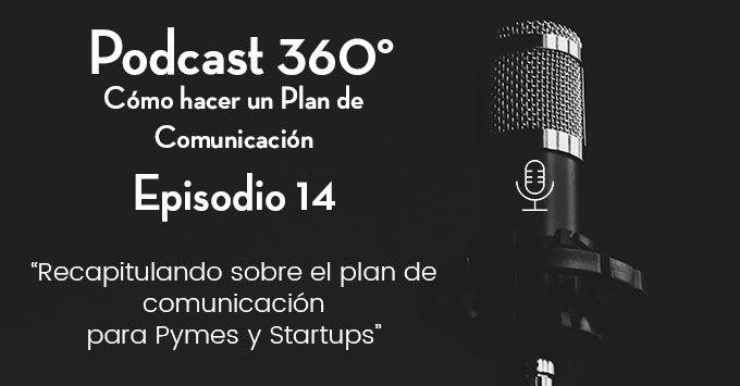 Recapitulando sobre el plan de comunicación para Pymes y Startups