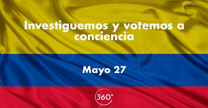 Investiguemos y votemos a conciencia este domingo 27 de mayo